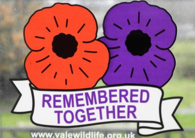 'Remembered Together' Car Sticker